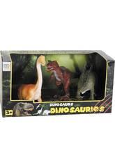 Dinosaure Pack de 3 Figurines