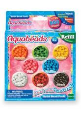 Aquabeads Pack Perles Solides Epoch d'enface 79168