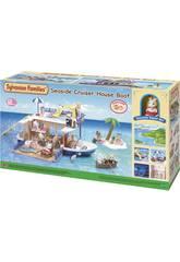 Sylvanian Families Barco Crucero Casa del Mar Epoch Para Imaginar 5206