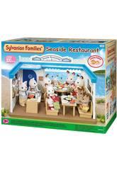 Sylvanian famílias restaurante da época do mar para imaginar 4190