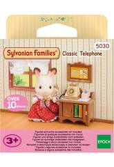 Sylvanian Families Telefono con Mobiletto 5030