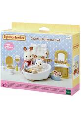 Sylvanian Families Set Baño Country Epoch Para Imaginar 5286