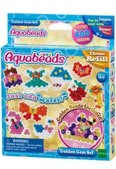 Aquabeads Set Goldene Perlen Epoch F