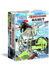 Arqueojugando Mamut Fosforescente Clementoni 55027