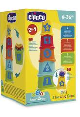 Cubes Empilables 2 en 1 Chicco 9373