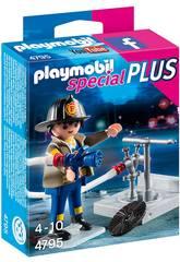 Playmobil Bombeiro com Mangueira
