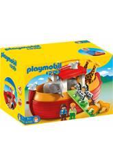 Playmobil 1.2.3 Arche de Noé Mallette