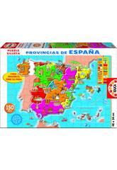 Puzzle 150 Provinzen von Spanien