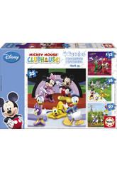 Disney  Puzzle progressivo Mickey Mouse 12-16-20-25
