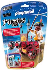 Playmobil Pirate avec Canon Rouge Interactif