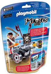 Playmobil Flibustier Interactif avec Canon Noir