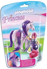Playmobil Princesa Viola con Caballo