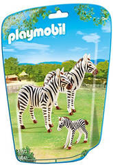 Playmobil Famille de Zèbres