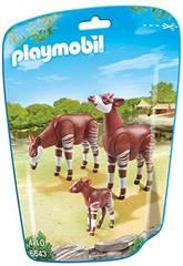 Playmobil Familia de Okapis