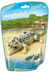 Playmobil Caiman con Bebes