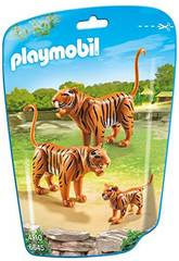 Playmobil Familia de Tigres 6645