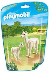 Playmobil Aplaga et son Petit