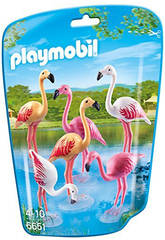 Playmobil Groupe de Flamands Roses