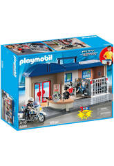 Playmobil Mallette Comissariat de Police