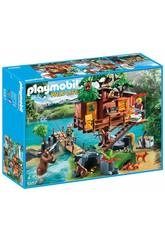 Playmobil Maison De l'Arbre Aventures
