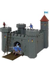 Château Médiéval Avec Catapulte