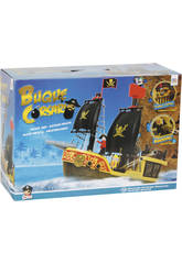 Barca Pirata Playset