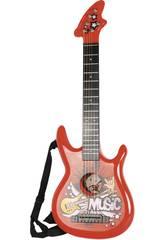 Instrumento Musical Guitarra Rock N Roll Infantil 80x28x6cm