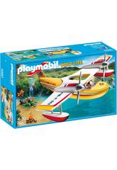 Playmobil Hydro-avion Extinction d'Incendies