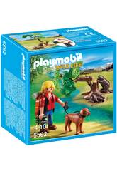 Playmobil Biber mit Backpacker