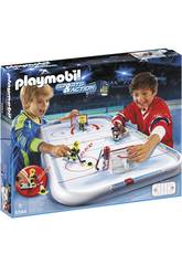 Playmobil Campo de Hockey sobre Hielo