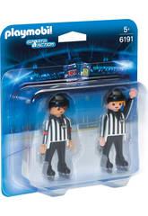 Playmobil Árbitros Hockey sobre Hielo