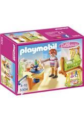 Playmobil Habitación del Bebé con Cuna 5304