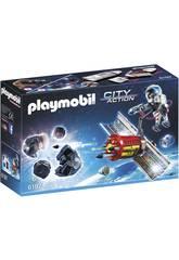 Playmobil Satelite con Laser para Meteoritos