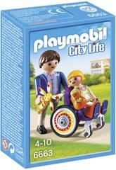 Playmobil Niño en Silla de Ruedas