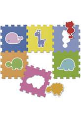 Puzzle Animaux 6 Pièces