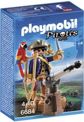 Playmobil Capitán Pirata 6684