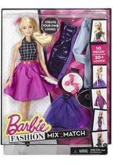 Mode Mélange Et Combinez Barbie