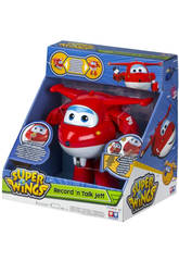 Superwings Jett Graba Tu Voz Transformable