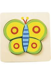 Puzzle en Bois Papillon
