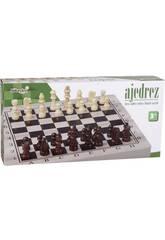 Klassisches Holz Schach