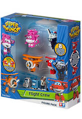 Superwings Figuras Pack 4+4