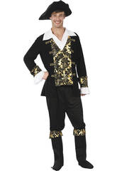 Disfraz Pirata Hombre Talla XL