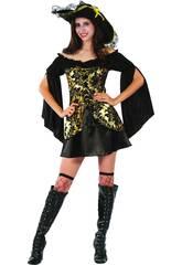 Disfraz Capitana Pirata Mujer Talla S