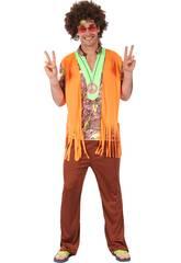 Disfraz Hippie para Hombre Talla XL