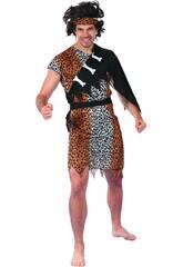 Disfraz Cavernicola Hombre Talla XL