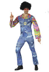 Disfraz Hippie Vaquero para Hombre Talla L