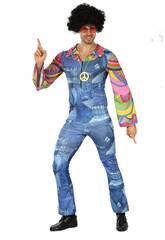 Disfraz Hippie Vaquero Hombre Talla XL