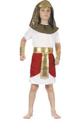 Kostüm Pharao für Junge Größe S