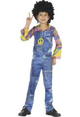 Déguisement Hippie Imitation Jean's Enfant Taille M