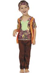Disfraz Hippie Chico Bebé Talla S